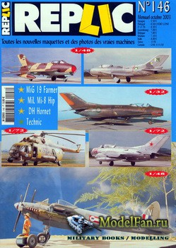 Replic №146 (2003) - MiG-19, Mi-8, DH-103 Hornet