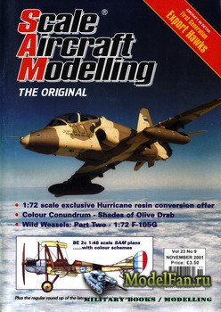 Scale Aircraft Modelling (November 2001) Vol.23 №09