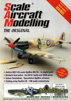 Scale Aircraft Modelling (March 2002) Vol.24 №01