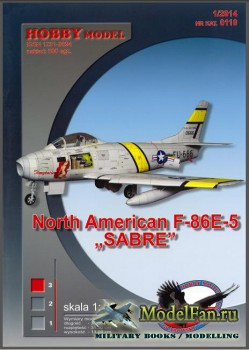 Hobby Model №110 - North American F-86E-5 Sabre