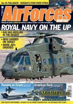 AirForces Monthly (December 2015) №333