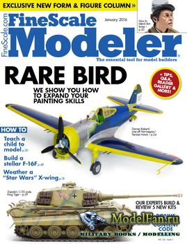 FineScale Modeler Vol.34 №01 (January) 2016
