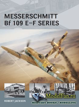 Osprey - Air Vanguard 23 - Messerschmitt Bf 109 E-F series