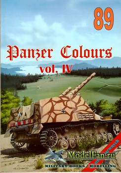 Wydawnictwo Militaria №89 - Panzer Colours (vol. IV)