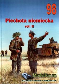 Wydawnictwo Militaria №98 - Piechota niemiecka (vol.II)