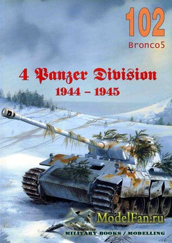 Wydawnictwo Militaria №102 - 4 Panzer Division 1944-1945