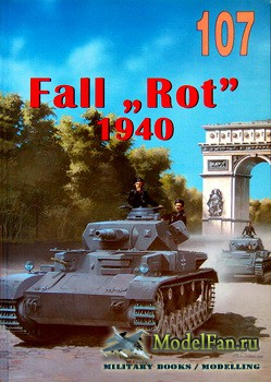 "Wydawnictwo Militaria №107 - Fall ""Rot"" 1940"