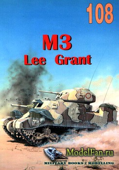 Wydawnictwo Militaria №108 - M3 Lee Grant