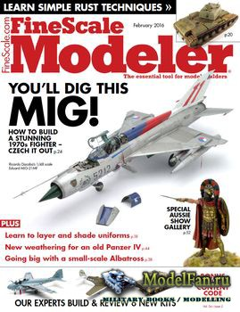 FineScale Modeler Vol.34 №02 (February) 2016