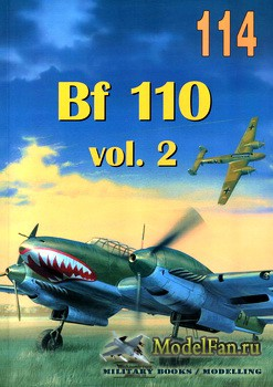 Wydawnictwo Militaria №114 - Bf 110 (vol.2)