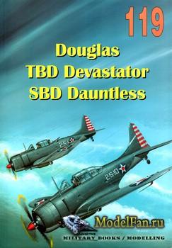 Wydawnictwo Militaria №119 - Douglas TBD Devastator SBD Dauntless