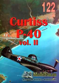 Wydawnictwo Militaria №122 - Curtiss P-40 (vol. II)