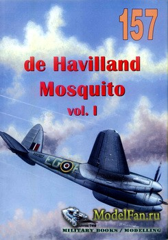 "Wydawnictwo Militaria №157 - de Havilland 98 ""Mosquito"" (vol.1)"