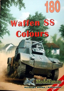 Wydawnictwo Militaria №180 - Waffen SS Colours (vol.1)