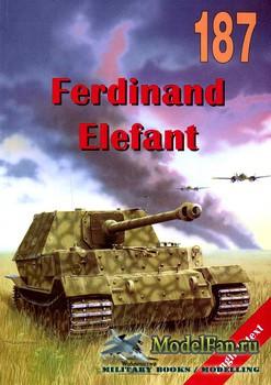 Wydawnictwo Militaria №187 - Ferdinand, Elefant