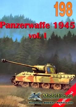 Wydawnictwo Militaria №198 - Panzerwaffe 1945 (vol.1)
