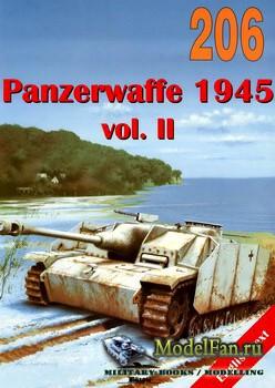 Wydawnictwo Militaria №206 - Panzerwaffe 1945 (vol.2)