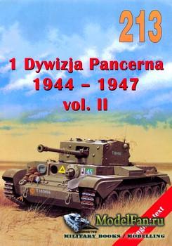 Wydawnictwo Militaria №213 - 1th Dywizja Pancerna 1944-1947 (vol.2)
