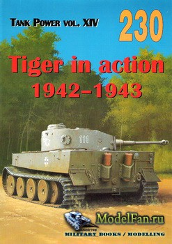 Wydawnictwo Militaria №230 - Tiger in Action 1942-1943