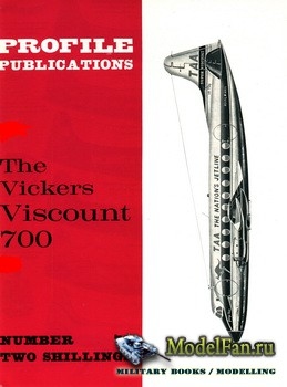 Profile Publications - Aircraft Profile №72 - The Vickers Viscount 700