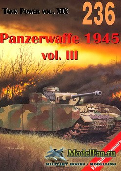 Wydawnictwo Militaria №236 - Panzerwaffe 1945 (vol.3)