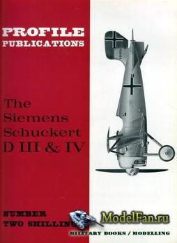 Profile Publications - Aircraft Profile №86 - The Siemens Schuckert D III & ...