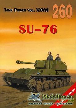 Wydawnictwo Militaria №260 - SU-76