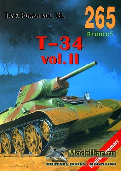 Wydawnictwo Militaria №265 - T34 (vol.2)