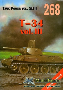 Wydawnictwo Militaria №268 - T-34 (vol.3)