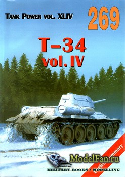 Wydawnictwo Militaria №269 - T-34 (vol.4)