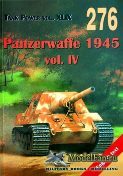 Wydawnictwo Militaria №276 - Panzerwaffe 1945 (vol.4)