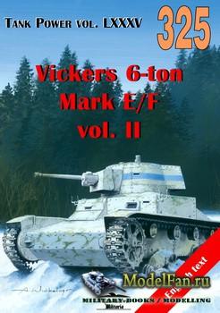 Wydawnictwo Militaria №325 - Vickers 6-ton Mark E/F vol.II (vol.2)