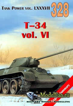 Wydawnictwo Militaria №328 - T-34 (vol.6)
