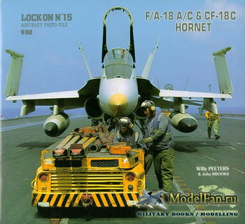 Verlinden Publications - Lock On №15 - F/A-18A/C and CF-18C Hornet
