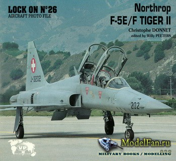 Verlinden Publications - Lock On №26 - Nortrop F-5E/F Tiger II