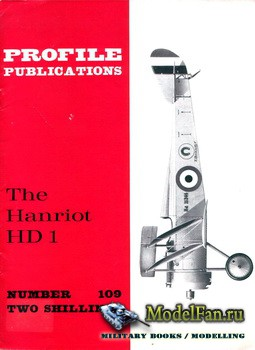 Profile Publications - Aircraft Profile №109 - The Hanriot HD 1