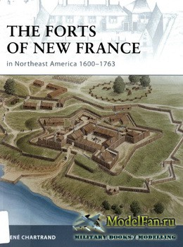 Osprey - Fortress 75 - The Forts of New France in Northeast America 1600-1763