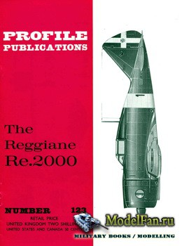 Profile Publications - Aircraft Profile №123 - The Reggiane Re.2000