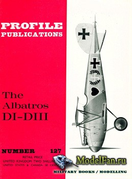 Profile Publications - Aircraft Profile №127 - The Albatros DI-DIII