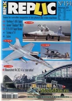 Replic №154 (2004) - T-38A Talon, Gloster Gladiator Mk II, FA-18 F Super Ho ...