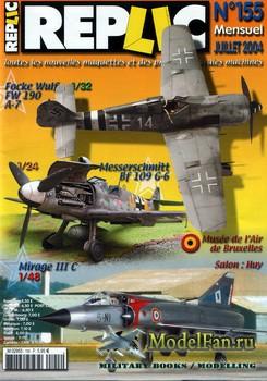 Replic №155 (2004) - FW-190, Me-109, Mirage III