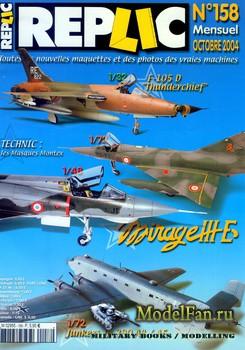 Replic №158 (2004) - F105 D, Mirage III, Ju-290 A4-A5