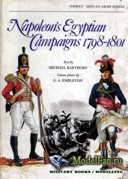 Osprey - Men-at-Arms 79 - Napoleon's Egyptian Campaigns 1798 - 1801