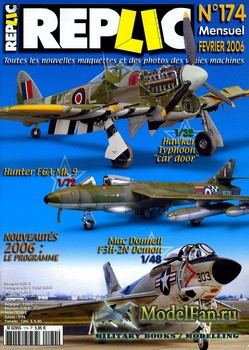 Replic №174 (2006) - Hawker Typhoon, Hawker Hunter, McDD F3H-2N Demon