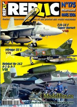 Replic №175 (2006) - He-162, F-18, Mirage III E.