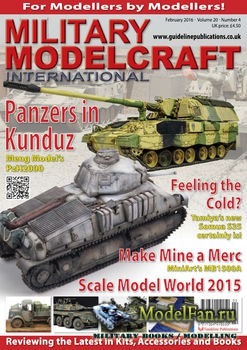 Military Modelcraft International (February 2016) Vol.20 №4