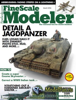 FineScale Modeler Vol.34 №03 (March) 2016