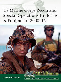 Osprey - Elite Series 208 - US Marine Corps Recon and Special Operations Uniforms & Equipment 2000-2015