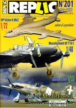 Replic №201 (2008) - Victor, Macchi C-202, Me-110