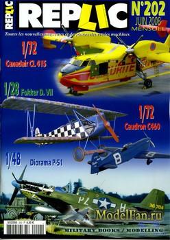 Replic №202 (2008) - Canadair CL-415, Caudron C-640, P-51, Fokker D-VII
